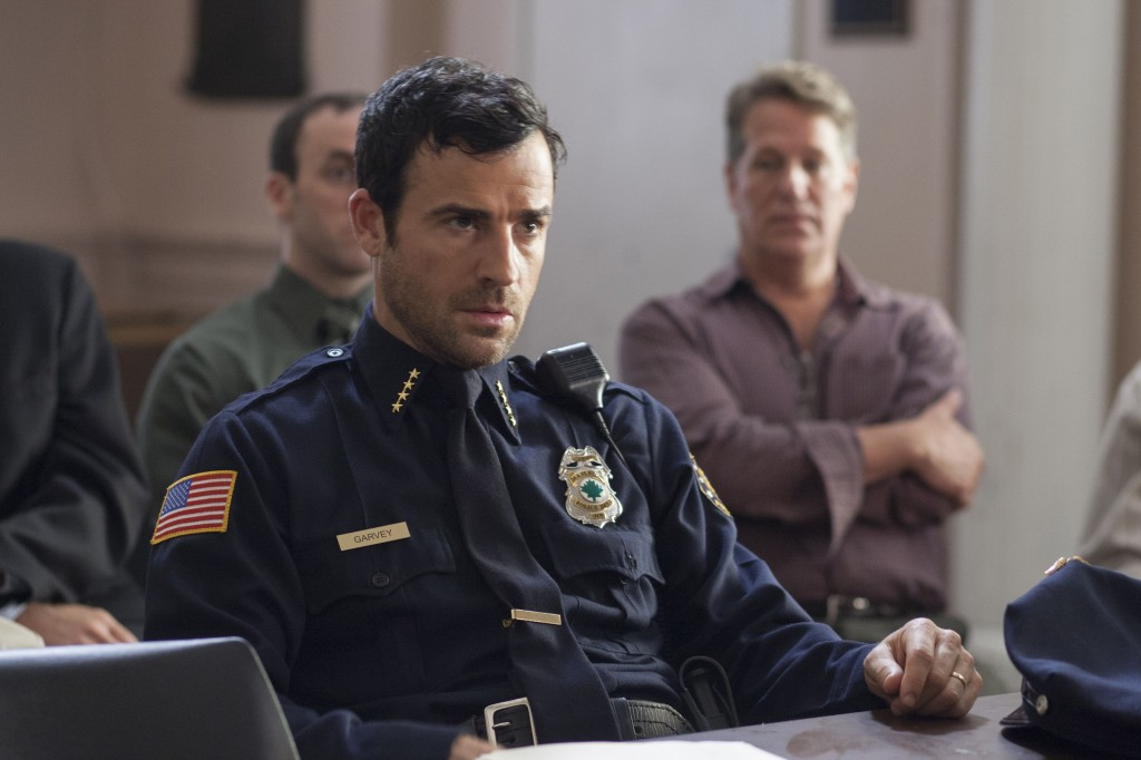 Justin Theroux will play a sheriff and father of two in the new HBO series The Leftovers. Photo courtesy of HBO and Warner Brothers.
