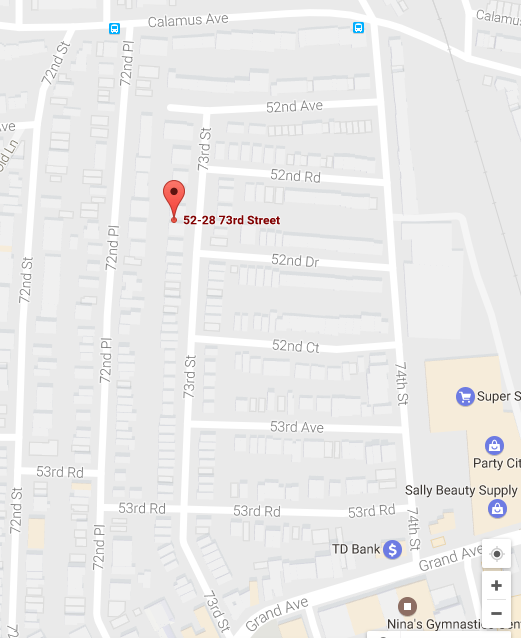 5228 73 Street Maspeth is the site where a garage will be demolished within the next month.