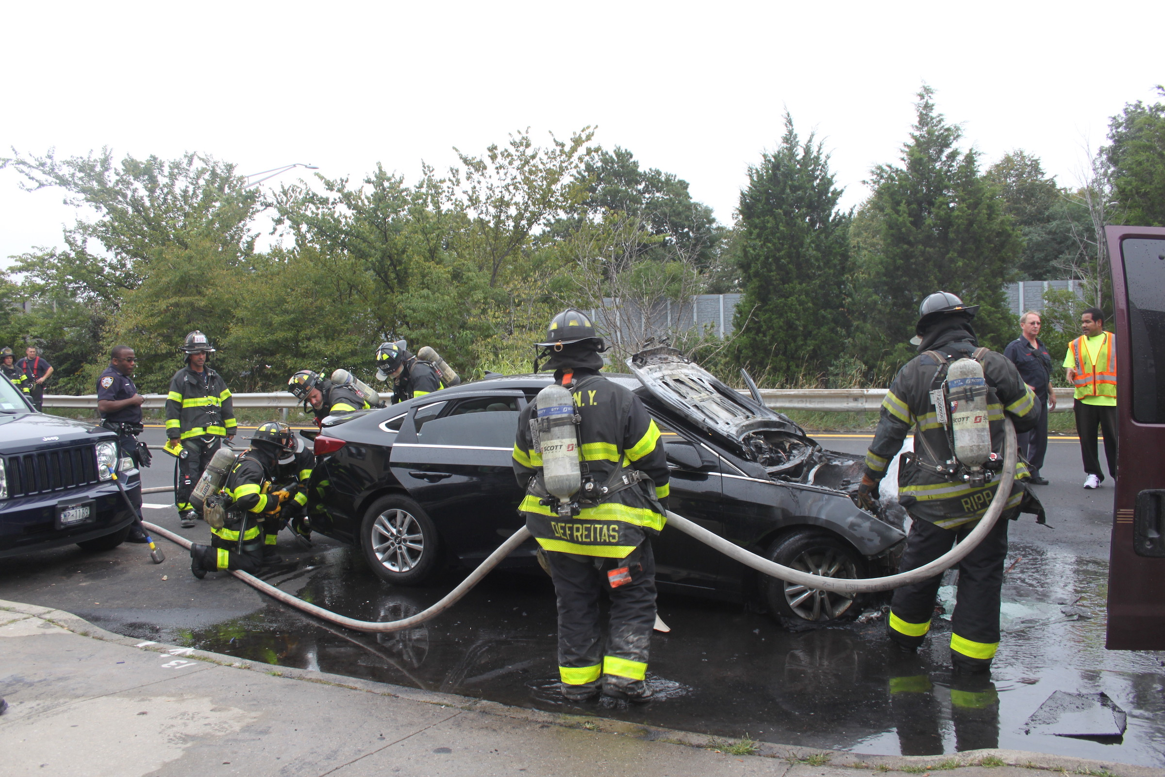 Maspeth Car Fire _smaller