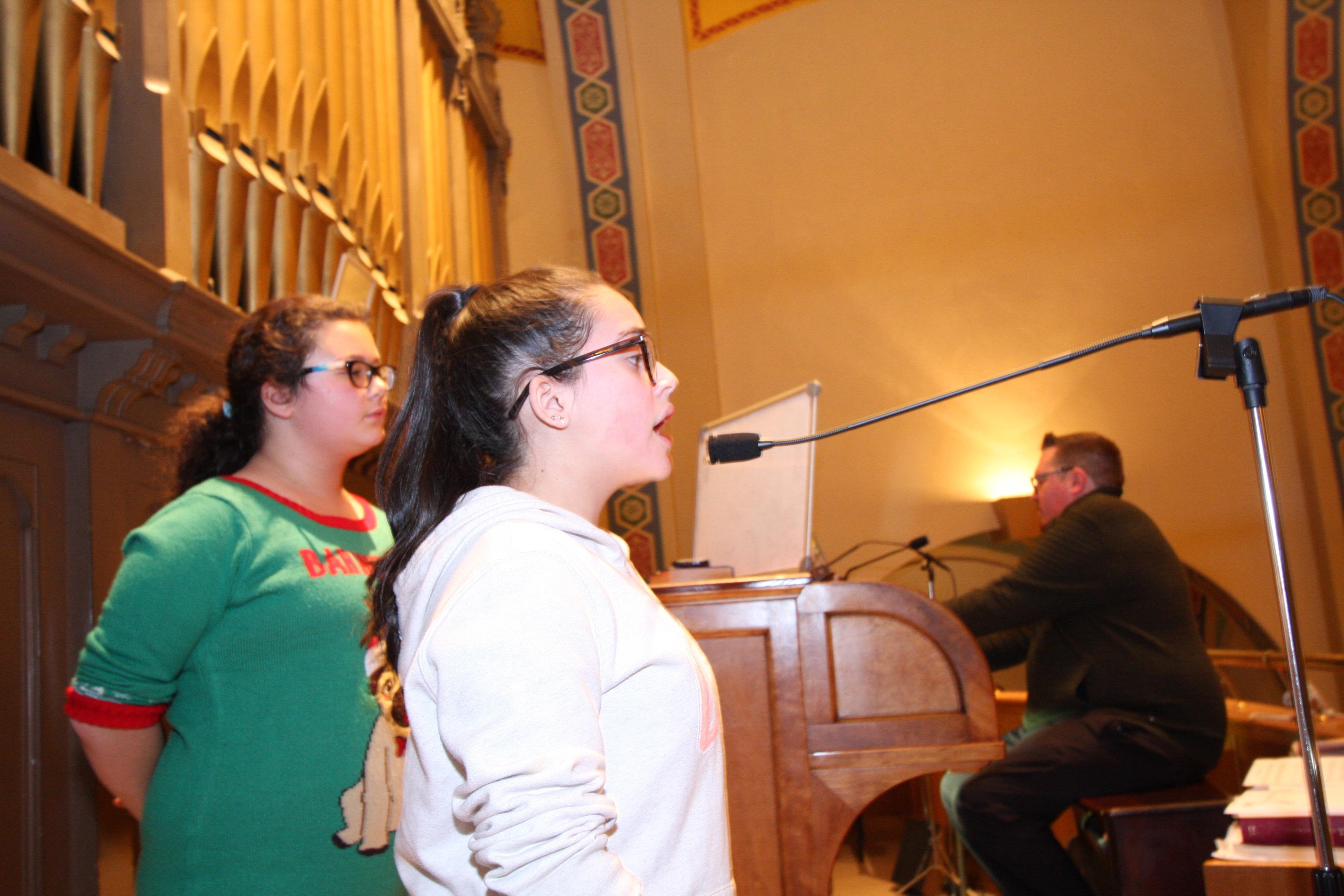 St. Stanislaus School 8th grader Gabby Gonzalez