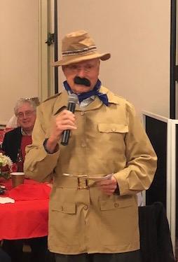 Ken Rudzewick at Town Hall on Sunday evening, December 10, 2017