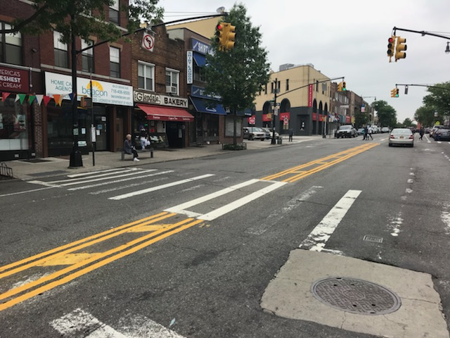 Maspeth Barriers removed